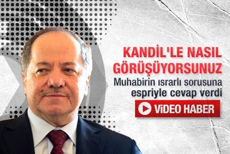 PKK sorusuna Barzani'den esprili yanıt - Video