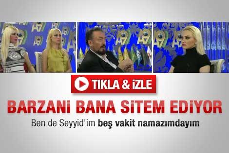 Barzani Adnan Oktar'a sitem etmiş - Video