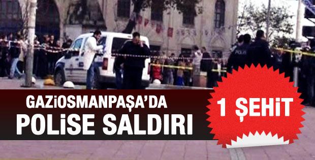 İstanbul Gaziosmanpaşa'da polise saldırı