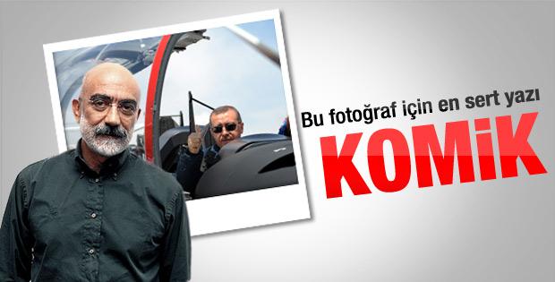 Ahmet Altan'dan Erdoğan'ın HÜRKUŞ pozuna yorum