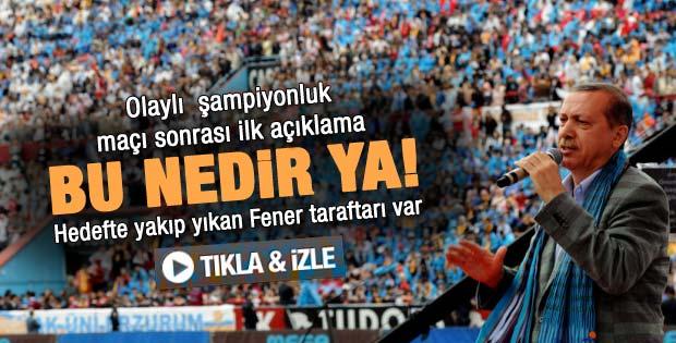 Erdoğan'ın Trabzon AK Parti Gençlik Şöleni konuşması