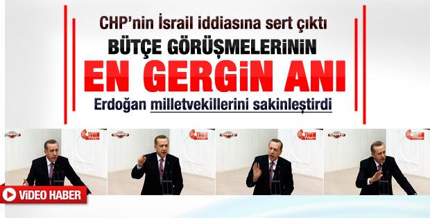 Erdoğan CHP'nin İsrail iddiasına sert çıktı