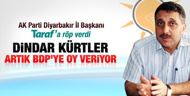 AK Parti Diyarbakır İl Başkanı'nın Dindar Kürtler çıkışı