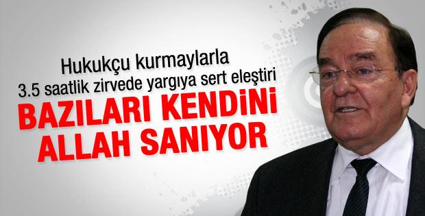 AK Partili İyimaya: Bazıları kendini Allah sanıyor