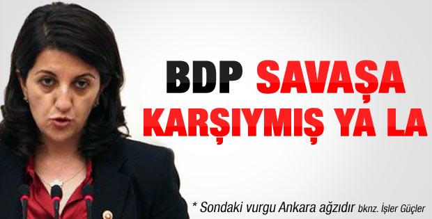 BDP'den tezkereye ret