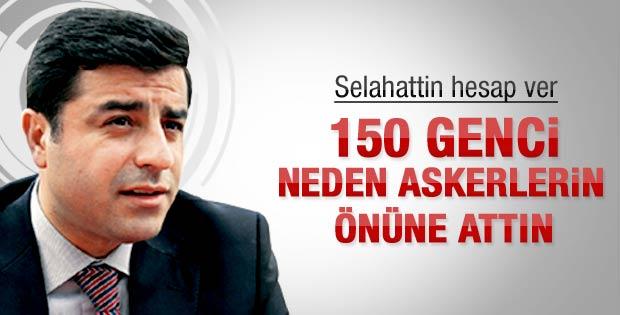 Ahmet Taşgetiren: Selahattin Demirtaş hesap ver