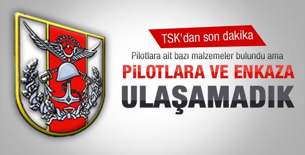 TSK'dan pilotlarla ilgili açıklama
