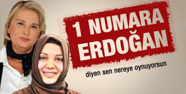 Hilal Kaplan'dan Nazlı Ilıcak'a Erdoğan eleştirisi
