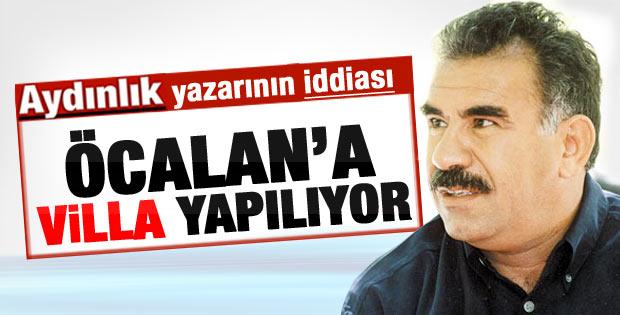 Önkibar: Öcalan'a İmralı'da villa inşa ediliyor