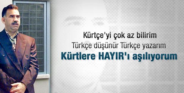 Güneri Cıvaoğlu: Öcalan bana ne demişti