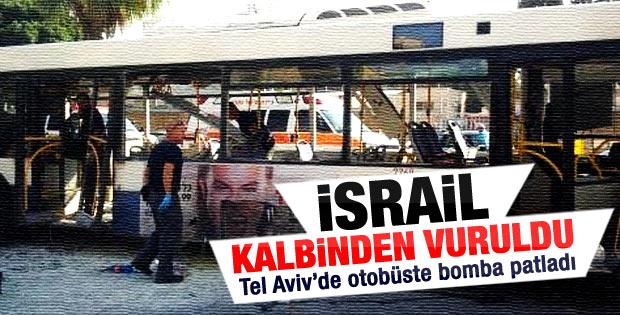 İsrail'de otobüste patlama meydana geldi