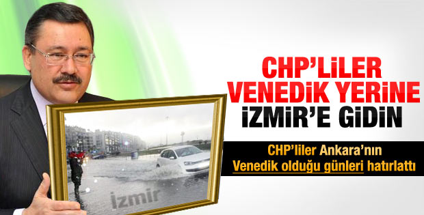 Melih Gökçek İzmirliler'i kızdırdı