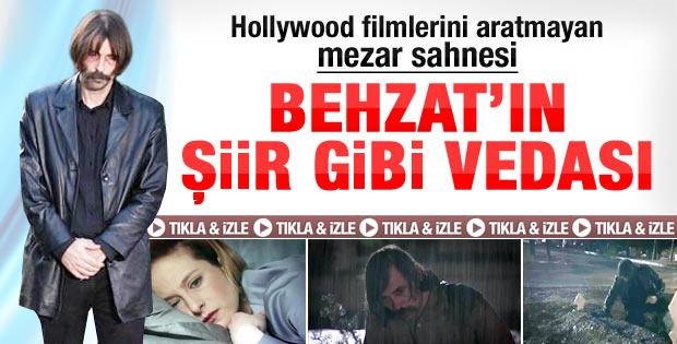 Behzat Ç.'de ekrana kilitleyen veda sahnesi - Video