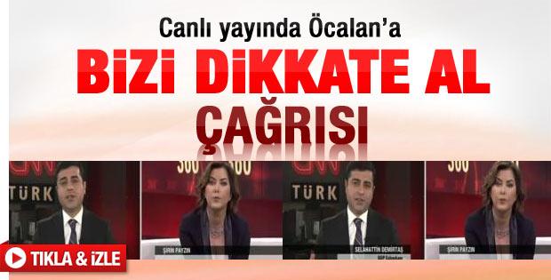 Demirtaş Öcalan'la görüşmek istiyor - Video