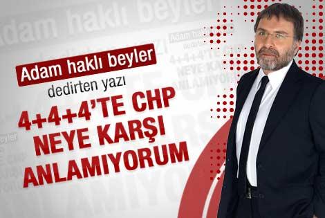 Ahmet Hakan: Bu durumda CHP neye karşı