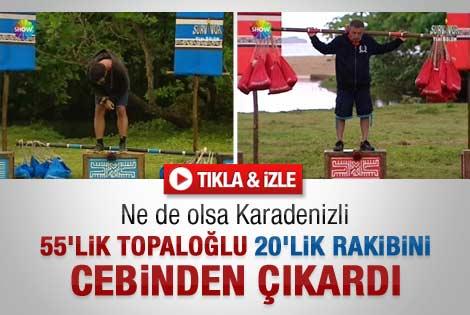 Topaloğlu'nun Survivor performansı ekrana kilitledi