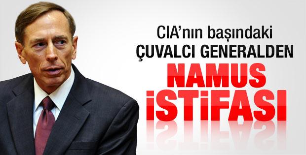 CIA Başkanı Petraeus istifa etti