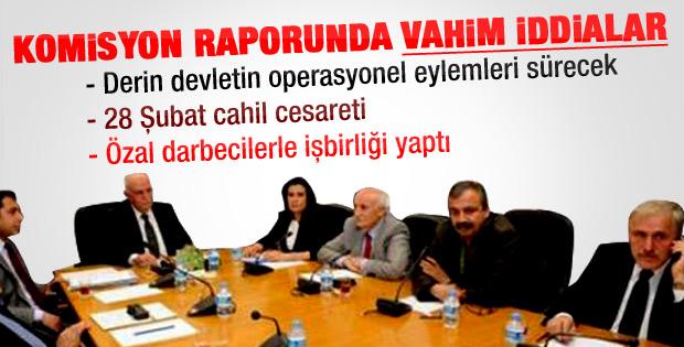 Darbe Komisyonu: Derin devlet tasfiye edilemedi