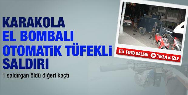 İstinye Karakolu'na silahlı saldırı