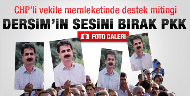 Hüseyin Aygün için Tunceli'den büyük destek - Galeri