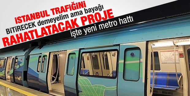 İstanbul'da trafiği bitirecek proje
