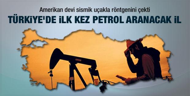 Sivas'ta ilk kez petrol aranacak
