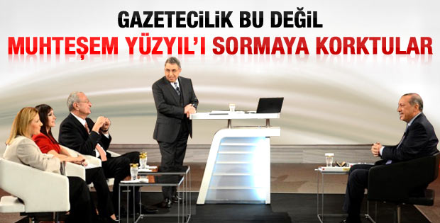 Star'da Erdoğan'a Muhteşem Yüzyıl sorusu sorulmadı