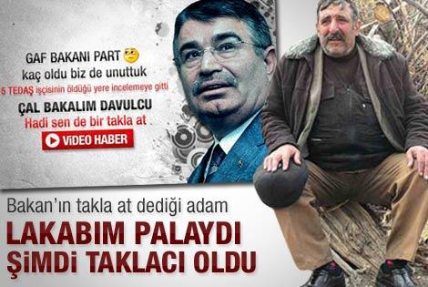Erzurumlu çoban: Bakan'dan iş isteyecektim