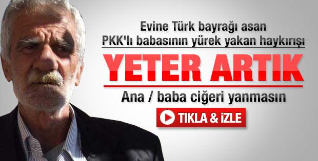 PKK'lının babasından yürek yakan haykırış - Video