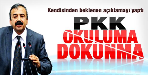 BDP'li vekillerin PKK'ya okul yakma tepkisi