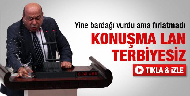 Hasip Kaplan'ın Meclis'te çıldırdığı an - Video