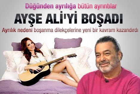 Ali Taran ile Ayşe Özyılmazel'in boşanmasından detaylar