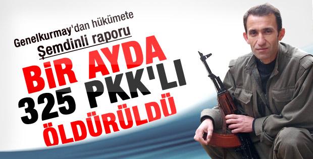 PKK Şemdinli'de bir ayda 318 kayıp verdi