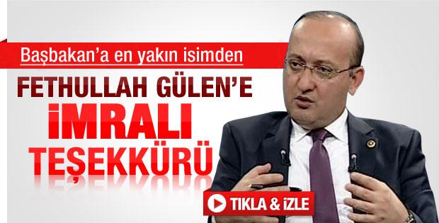 Akdoğan'dan Fethullah Gülen'e teşekkür - izle
