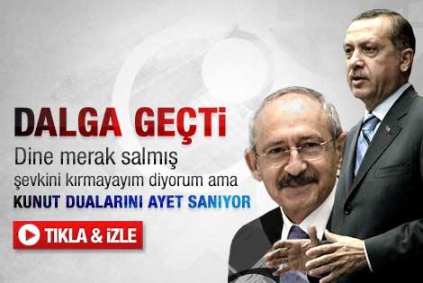 Erdoğan: Kılıçdaroğlu Kunut dualarını ayet sanıyor