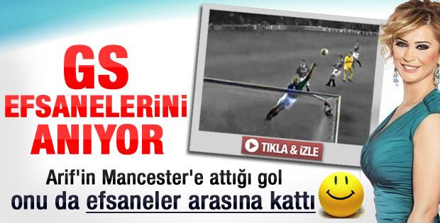 Arif'in Mancester'e attığı gol Songül Karlı'ya yaradı