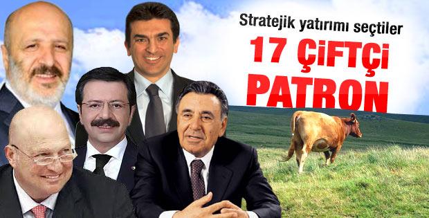 Türk patronlar çiftçiliği tercih ediyor
