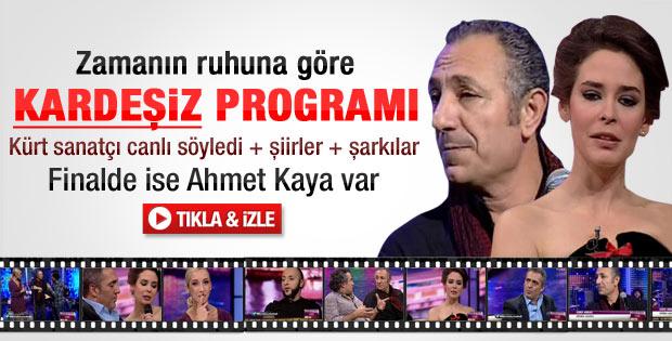 Xero Abbas Türk TV'lerinde ilk kez canlı yayında - Video