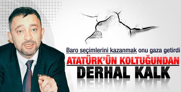 Kocasakal'dan Kılıçdaroğlu'na: Ata'nın koltuğundan kalk