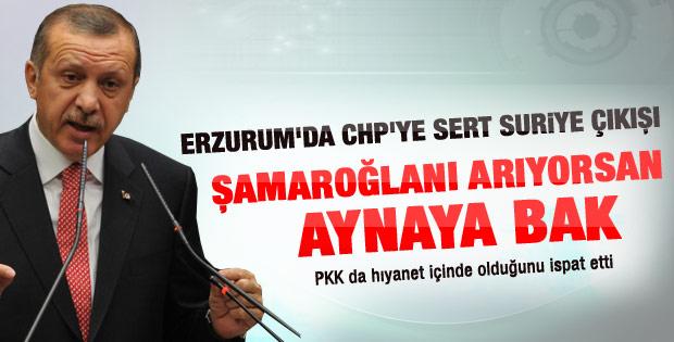 Erdoğan'ın  Erzurum il kongresi konuşması