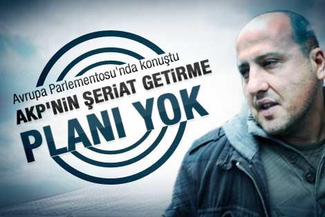 Ahmet Şık: AKP'nin şeriat getirme gibi bir planı yok