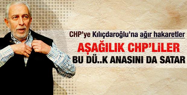 Çölaşan'ın köşesinde Kılıçdaroğlu'na ağır hakaret