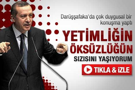 Erdoğan'ın Darüşşafaka Genel Kurulu konuşması