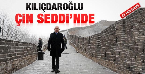 Kılıçdaroğlu Çin Seddi'ni gezdi - Galeri