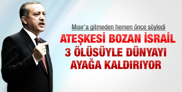 Erdoğan'dan Mısır ziyareti öncesi açıklama