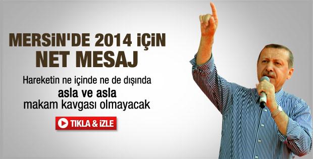 Erdoğan'dan üstü kapalı mesaj