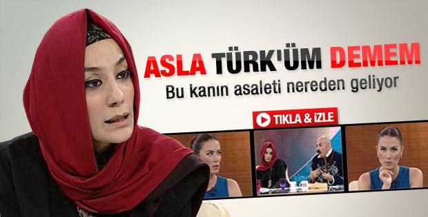 Esra Elönü: Ben asla Türk'üm demem - Video