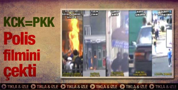 Emniyetin hazırladığı KCK - PKK klibi