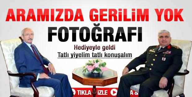 Özel Kılıçdaroğlu'nu ziyaret etti