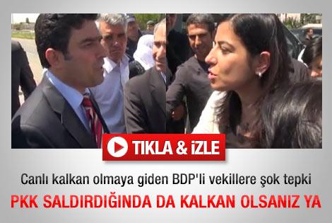 Emniyet Müdürü'nden BDP'li vekile ince mesaj